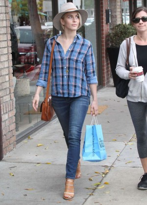 Julianne Hough in Jeans Shopping in West Hollywood