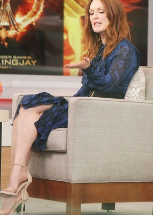 Julianne Moore at 'Good Morning America' in NYC