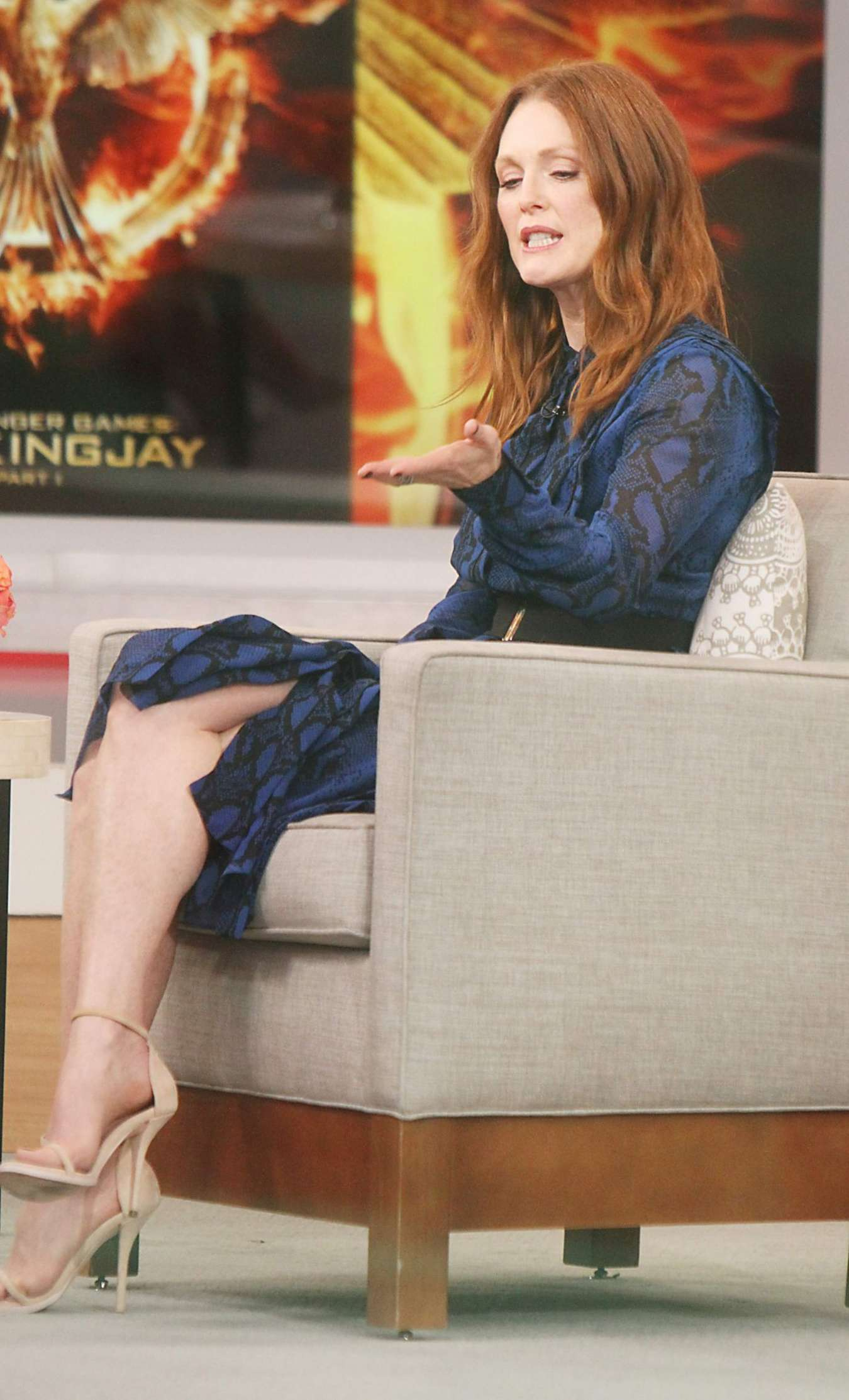 Good Morning America Nyc : Julianne moore at good morning america in nyc