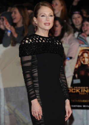 Julianne Moore - 'The Hunger Games: Mockingjay Part 1' Premiere in London