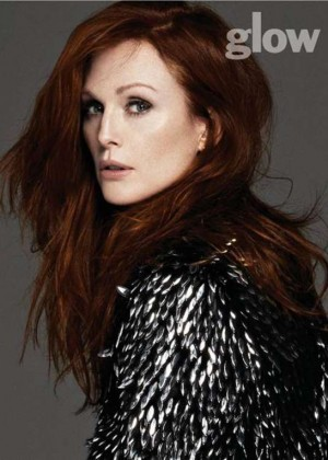 Julianne Moore - Glow Canada Magazine (Winter 2015)