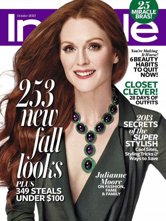 Julianne Moore – InStyle – October 2013 -01