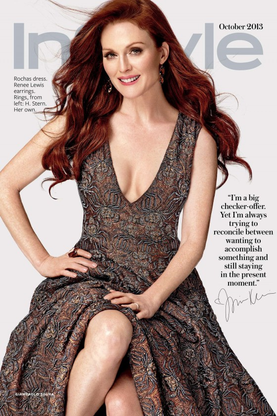 Julianne Moore – InStyle – October 2013 -02