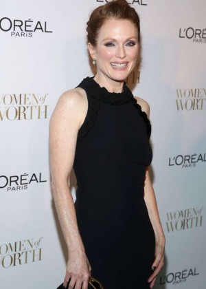 Julianne Moore - L'Oreal Paris 9th Annual Women Of Worth Celebration in NY