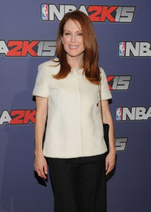 Julianne Moore - NBA 2K15 Launch Celebration in NY
