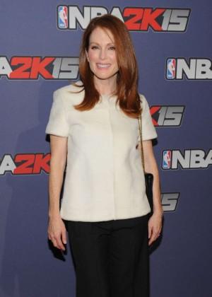 Julianne Moore - NBA 2K15 Launch Celebration in NY