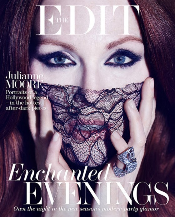 Julianne Moore: The Edit Magazine 2014 -01