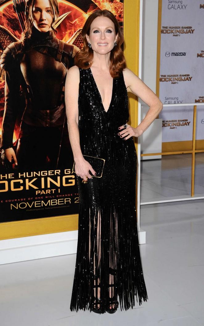 Julianne Moore - 'The Hunger Games: Mockingjay - Part 1' Premiere in LA