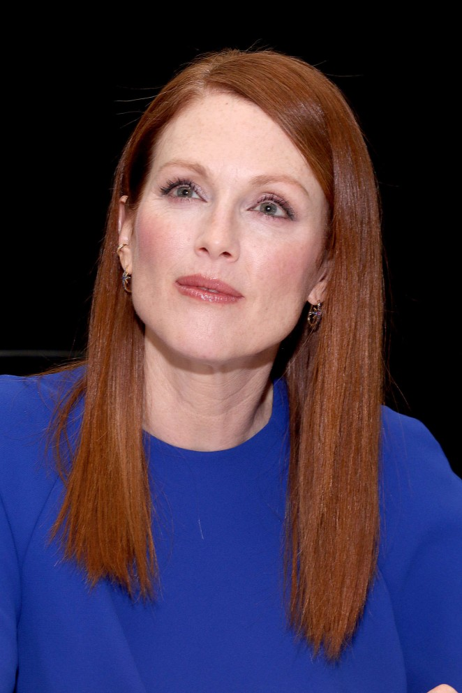 Julianne Moore - The Hunger Games: Mockingjay Part 1 Press Conference Portraits in London