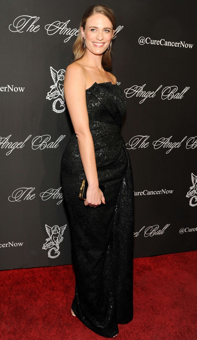 Julie Henderson - Gabrielle's Angel Foundation Angel Ball 2014 in NYC