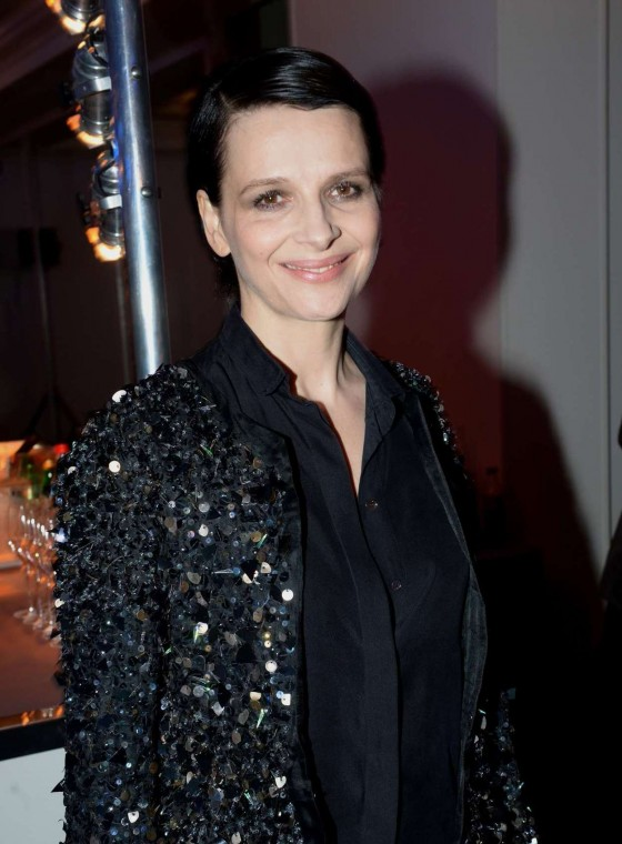 Juliette Binoche at Sidaction Gala Dinner