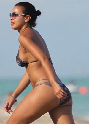 Julissa Bermudez Bikini Photos: 2014 Miami -03