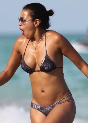 Julissa Bermudez Bikini Photos: 2014 Miami -04