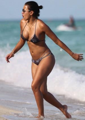 Julissa Bermudez Bikini Photos: 2014 Miami -07