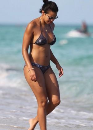 Julissa Bermudez Bikini Photos: 2014 Miami -08
