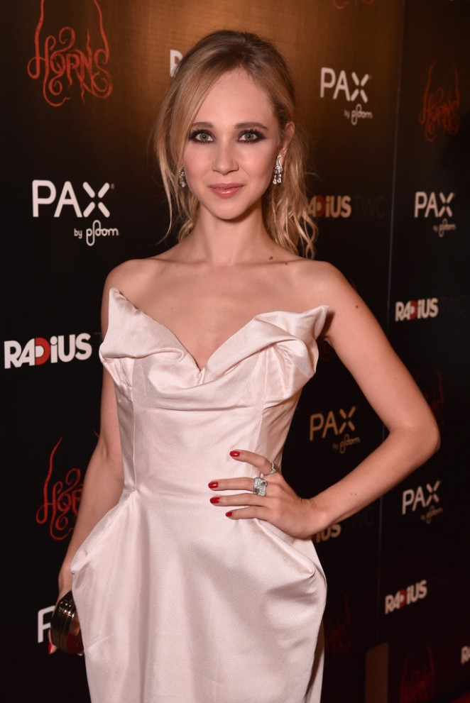"Juno Temple at Premiere ""Horns"" Premiere in Hollywood"