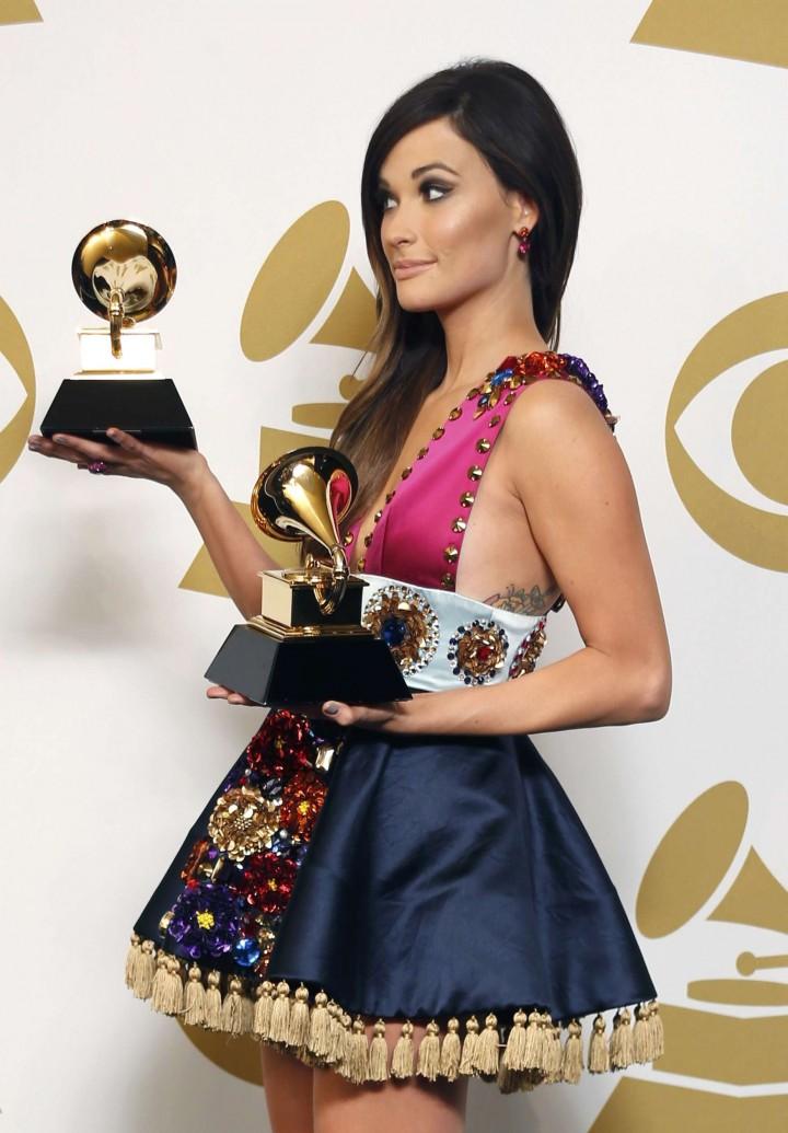 Kacey Musgraves 56th Grammy 2014 Awards 06 Gotceleb