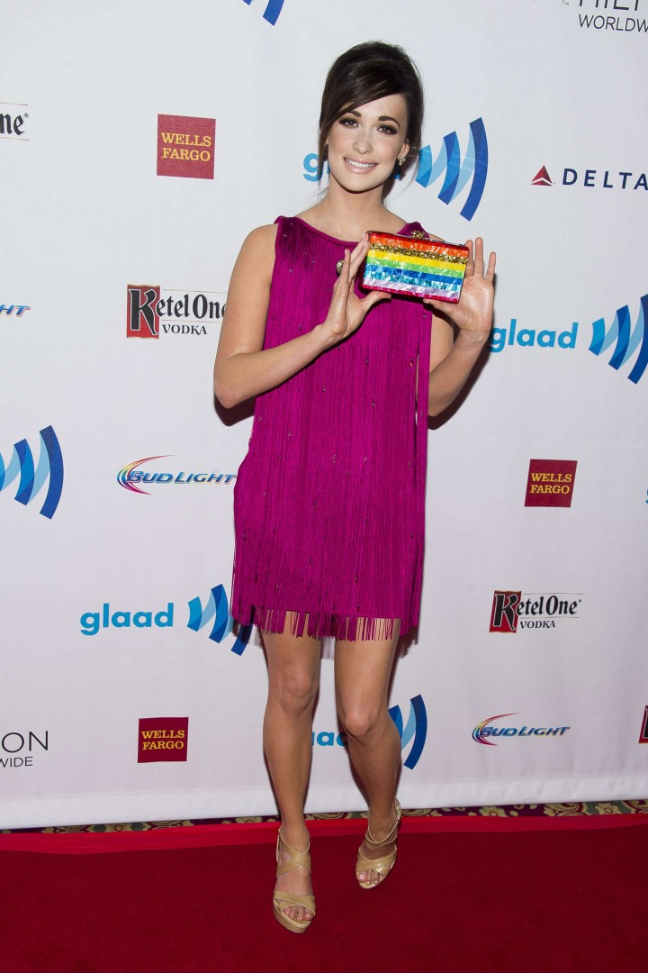 Kacey Musgraves: 2014 GLAAD Media Awards in NY -01