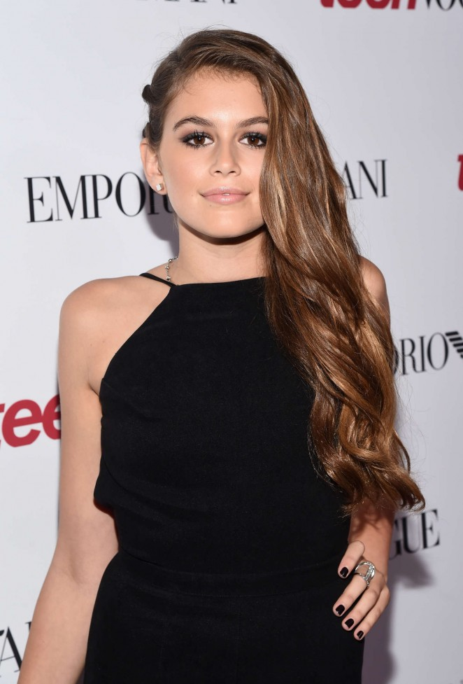 Kaia Gerber: 2014 Teen Vogue Young Hollywood Party -04 ...