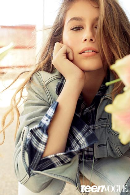 Kaia Gerber - Teen Vogue Magazine (December/January 2015)
