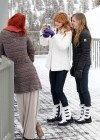 Kaili and Dani Thorne out with their Sister in Lake Tahoe