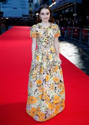 "Kaitlyn Dever - ""Men, Women & Children"" Screening at 58th BFI London FF in London"