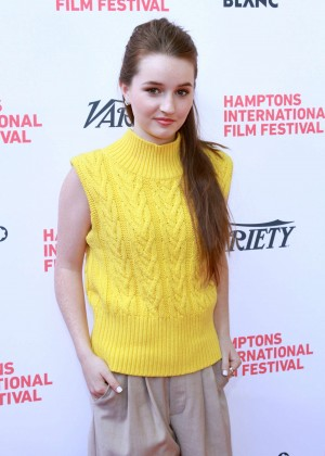 Kaitlyn Dever - Variety's 10 Actors To Watch Panel in East Hampton