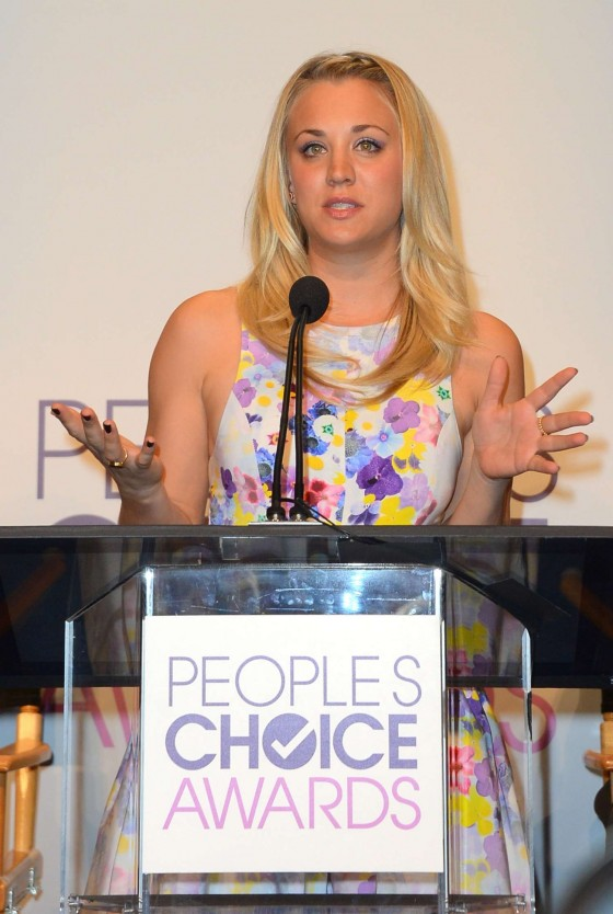 Kaley Cuoco People's Choice Awards Nomination Announcements in Beverly Hills