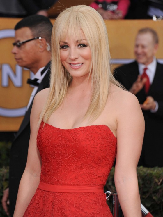 Kaley Cuoco - 2013 Guild Awards