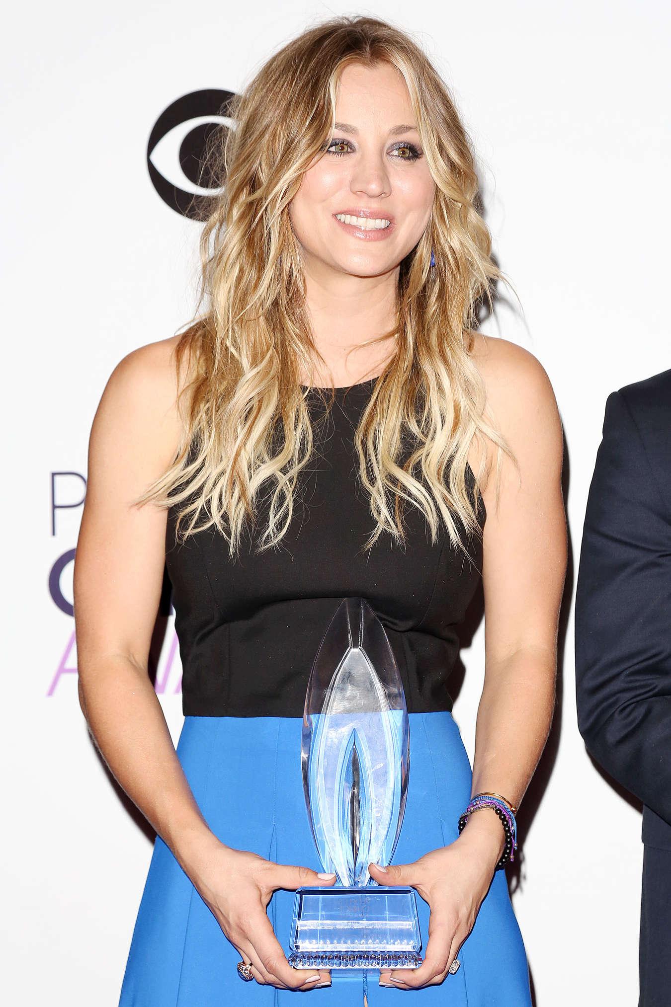 Kaley Cuoco 2014 : Kaley Cuoco Photos: 2014 PCA Peoples Choice Awards -09