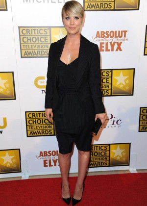 Kaley Cuoco - 2014 Critics Choice Television Awards in Beverly Hills -02
