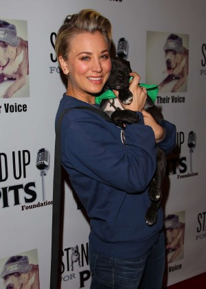 Kaley Cuoco - 4th annual 'Stand Up For The Pits' Event in West Hollywood
