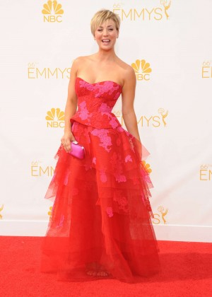 Kaley Cuoco - 66th annual Primetime Emmy Awards in LA