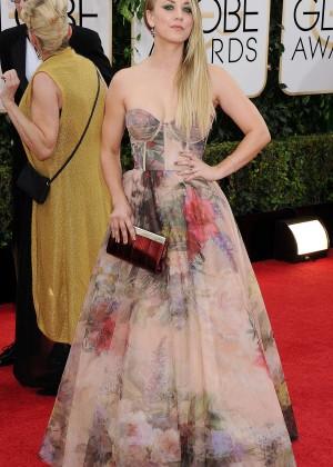 Kaley Cuoco: Golden Globe 2014 Awards -02