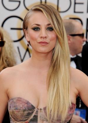 Kaley Cuoco: Golden Globe 2014 Awards -04