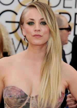 Kaley Cuoco: Golden Globe 2014 Awards -05