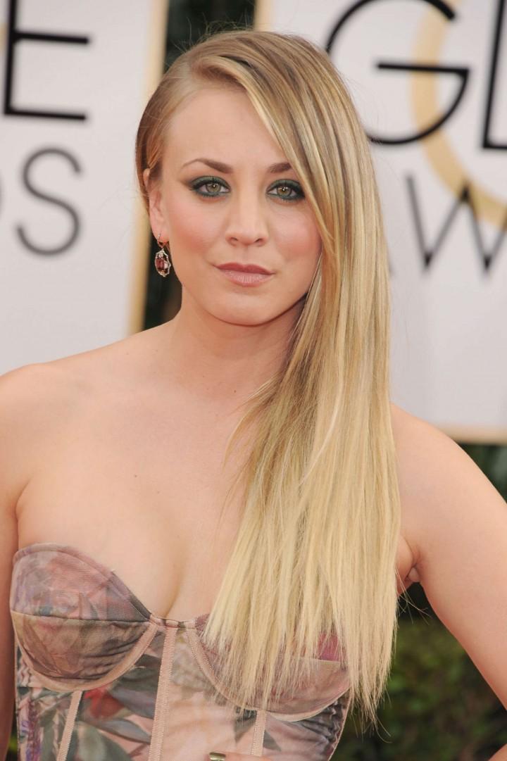 Kaley Cuoco: Golden Globe 2014 Awards -06