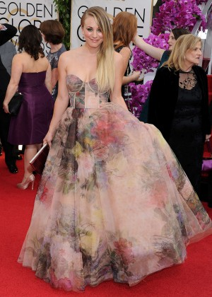 Kaley Cuoco: Golden Globe 2014 Awards -07
