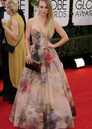 Kaley Cuoco: Golden Globe 2014 Awards -09
