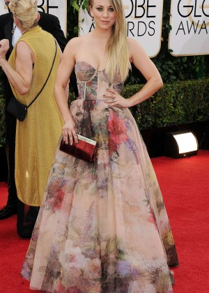 Kaley Cuoco: Golden Globe 2014 Awards -10