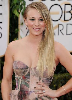 Kaley Cuoco: Golden Globe 2014 Awards -12