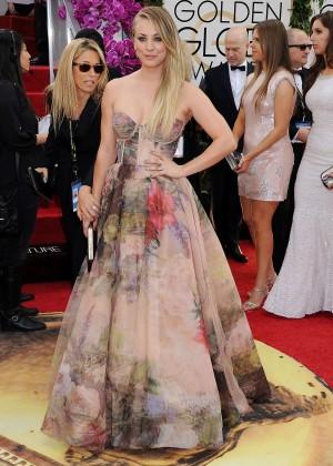 Kaley Cuoco: Golden Globe 2014 Awards -14