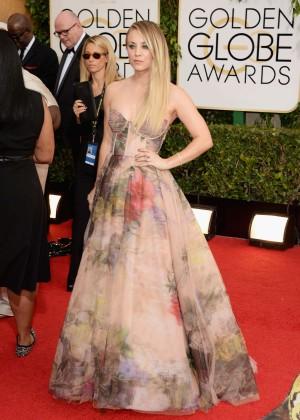 Kaley Cuoco: Golden Globe 2014 Awards -17