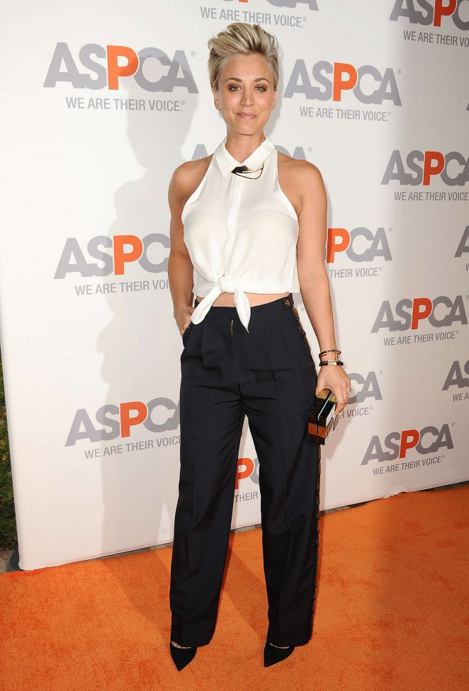 Kaley Cuoco - 2014 ASPCA Passion Awards Party in Bel Air