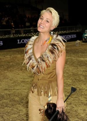Kaley Cuoco at Longines Los Angeles Masters Charity Pro-Am
