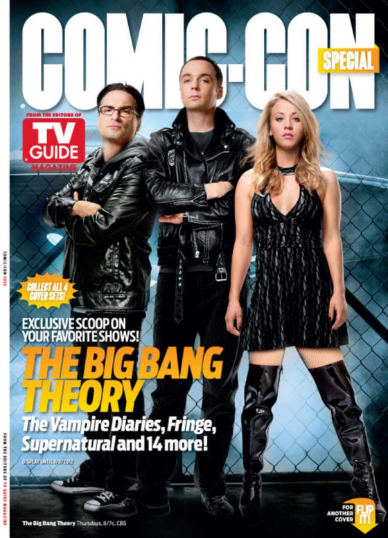 Kaley Cuoco hot at Comic Con Special Cover