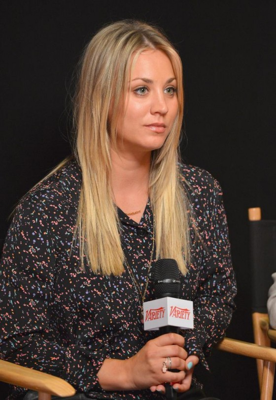 Kaley Cuoco Cute at Variety EMMY Studio in West Hollywood-02