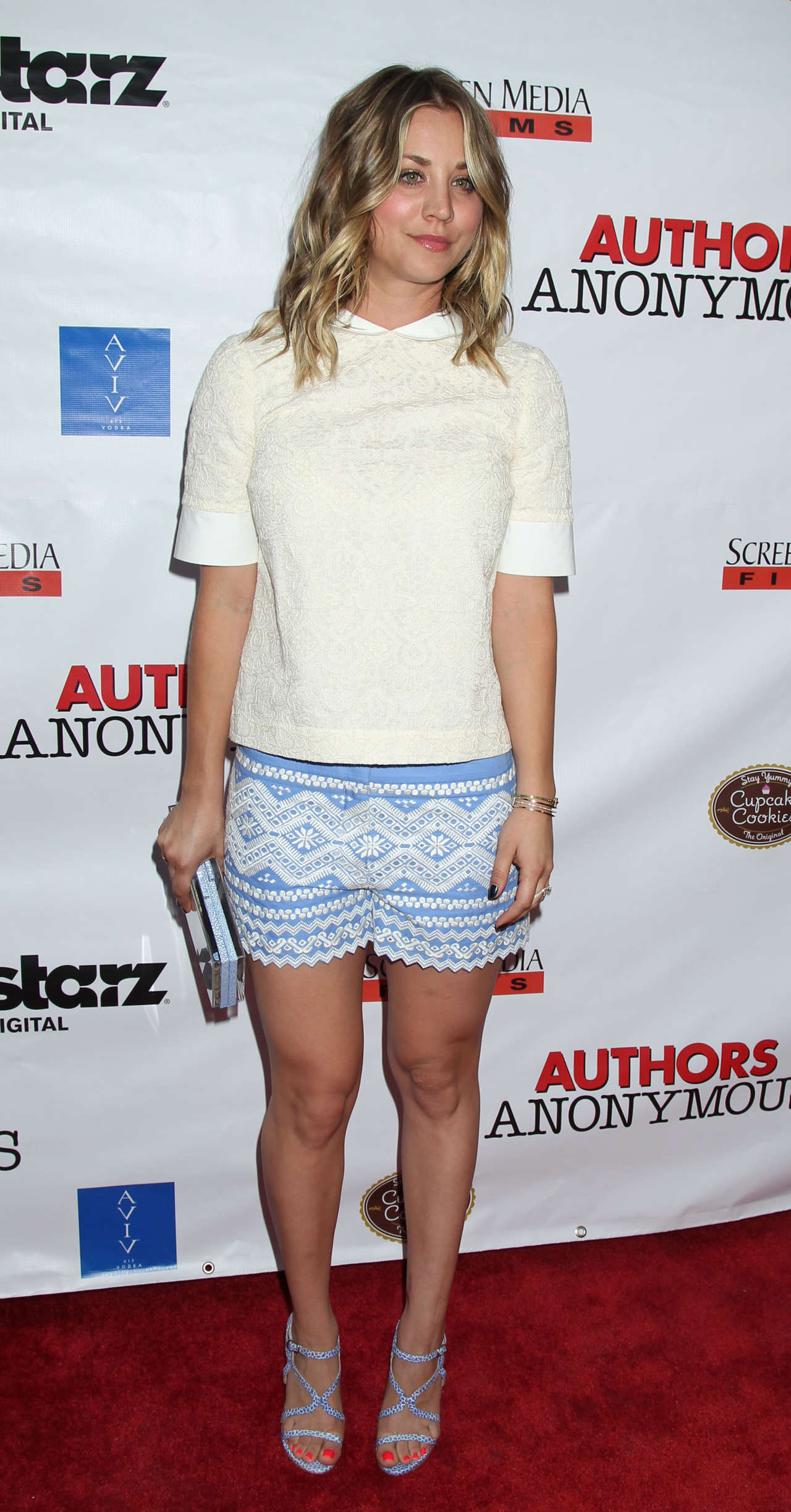 Back to FULL gallery Kaley Cuoco – Authors Anonymous premiere in LA