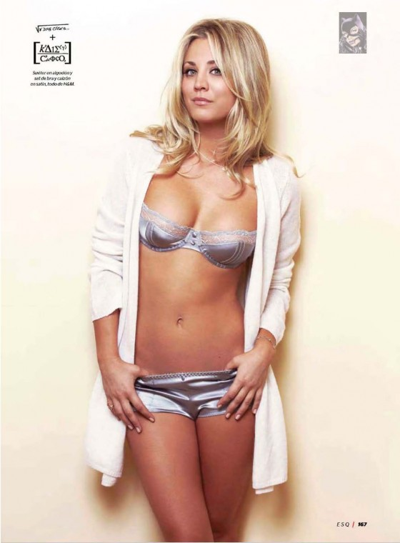 Kaley Cuoco – Esquire for Latin America – scans-05