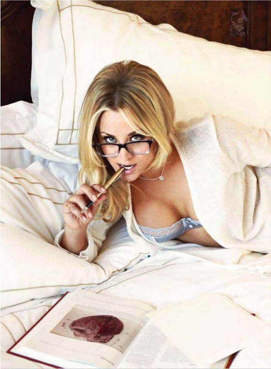 Kaley Cuoco - Hot in Esquire for Latin America